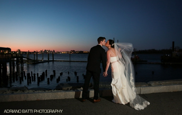 Bride and Groom At the Venezia